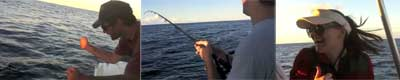 Spanish Mackerel video on board BK's Gold Coast Fishing Charters